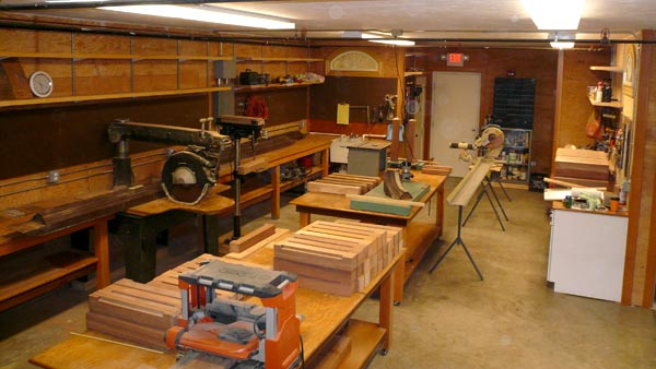Ricci Brothers Millwork shop